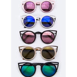 Iconic Cat-Eye Round Sunglasses - ShopFAH Boutique