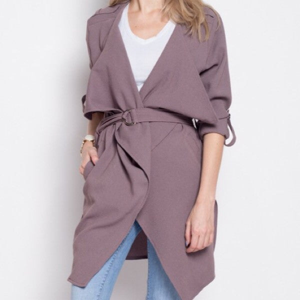 Lightweight Trench Jacket - ShopFAH Boutique