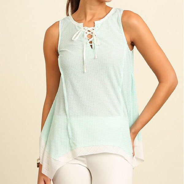 Asymmetrical Tank Top - ShopFAH Boutique