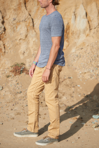 Moab Brown Canvas Chore Pant
