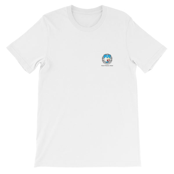 Gstaad Business School x Daffy Chick T - Sky Blue Logo