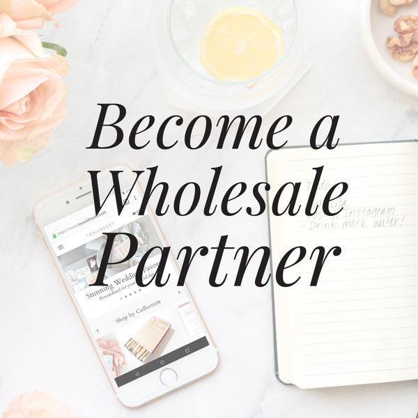 Become a Tea and Becky wholesale partner.