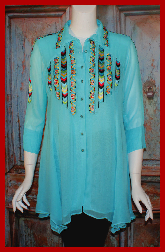 VINTAGE COLLECTION OPAL SWING TUNIC on SALE