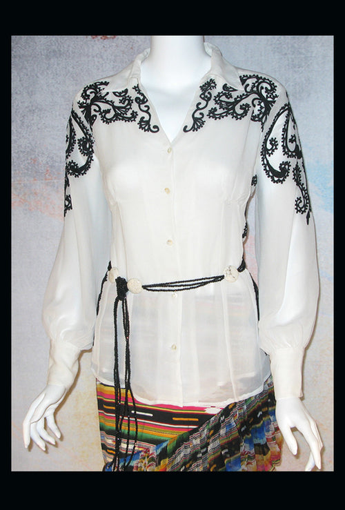 VINTAGE COLLECTION ROMANTIC BLOUSE