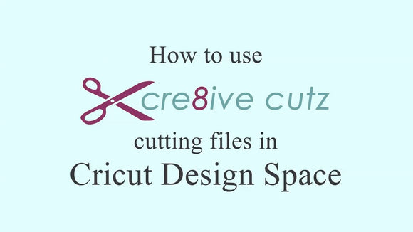 How to import our cutting files into Cricut Design Space