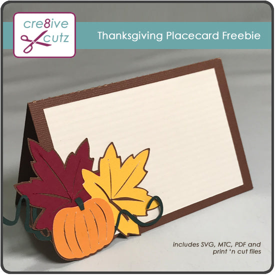 Thanksgiving Placecard Freebie