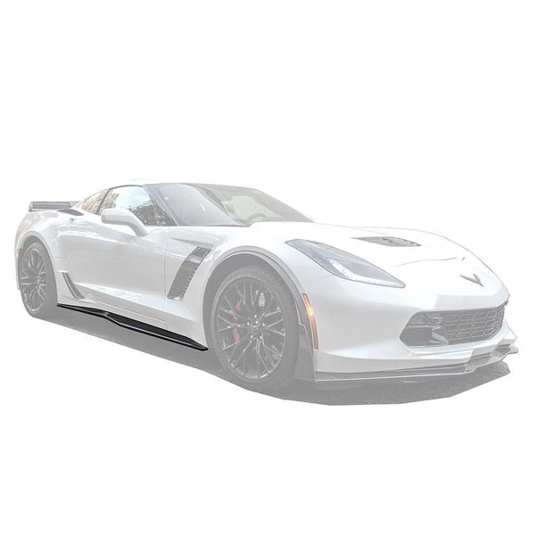 Corvette C7 Grand Sport / Z06 Carbon Flash Side Skirts Rocker Panels