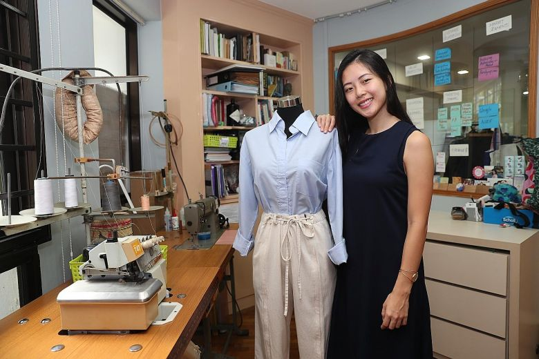 Line of beauty - with a functional cut | The Straits Times
