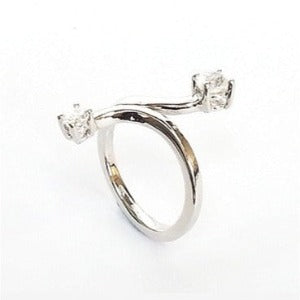 Rectangular Design 925 Sterling Silver Ring