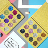12 COLORS GLITTER EYESHADOW