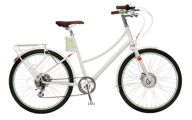 Cortland S - Classic White (Close Out) - Electric Cycling House