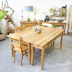 Normandie dining table and console