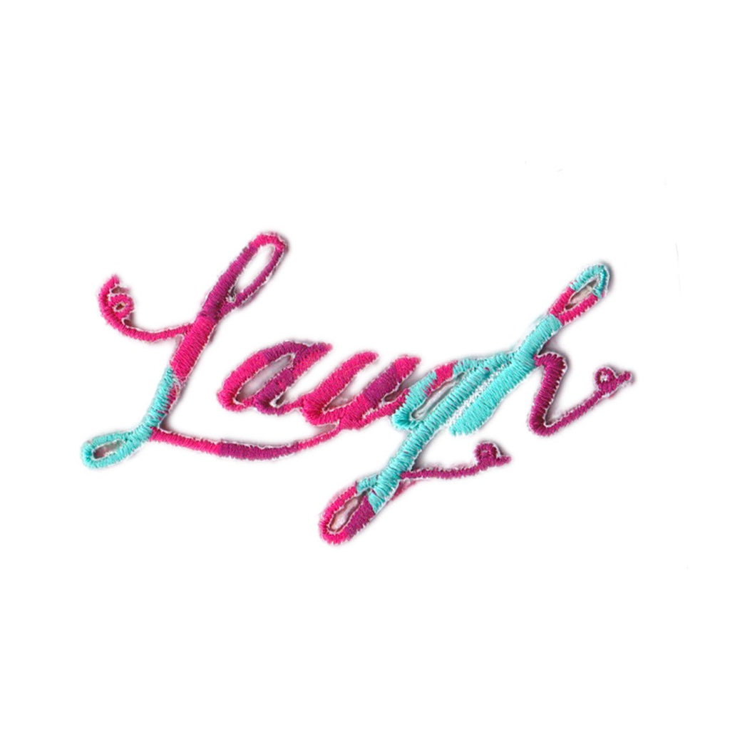 Laugh Iron On Patch