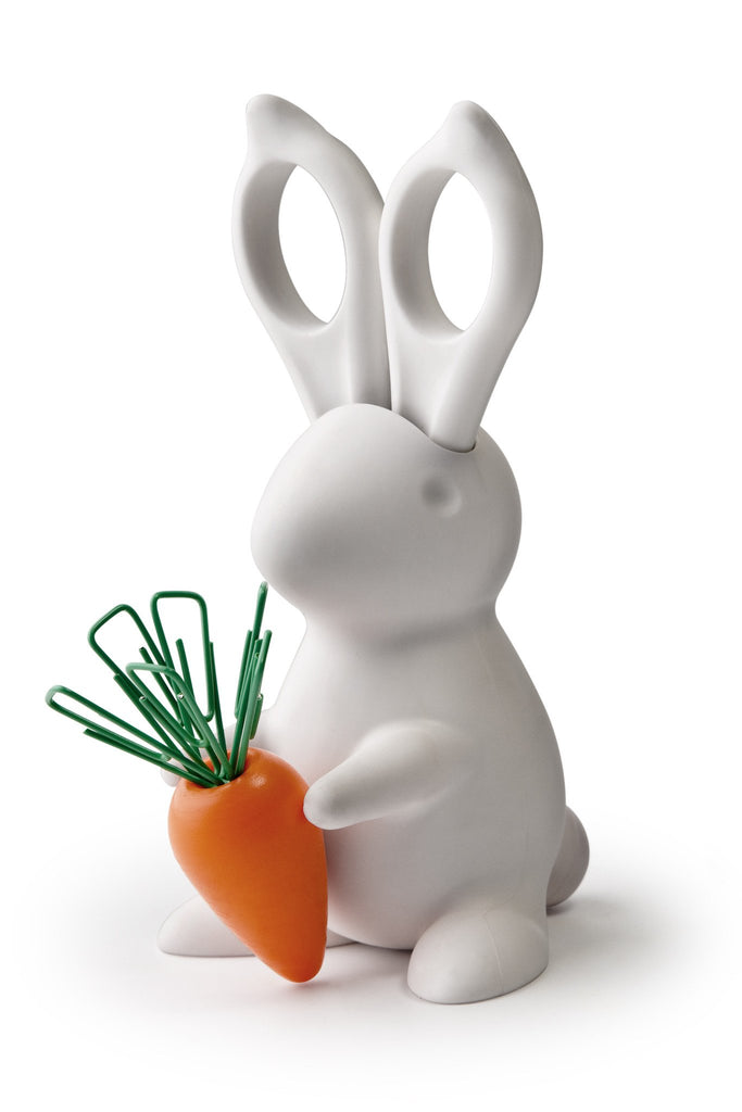 Desk Bunny Scissors & Paper Clip Holder