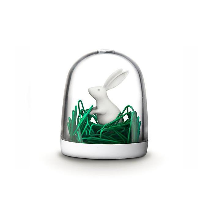 Bunny In The Field Paper Clip Holder