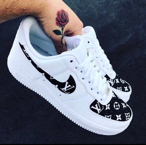 "Air Force 1 ""Supreme L V"" (with front and back tab) Customs 2"