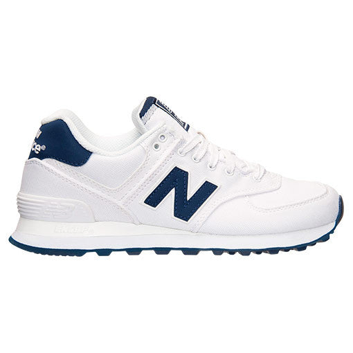 New Balance Women's 574 White/Blue WL574HRW