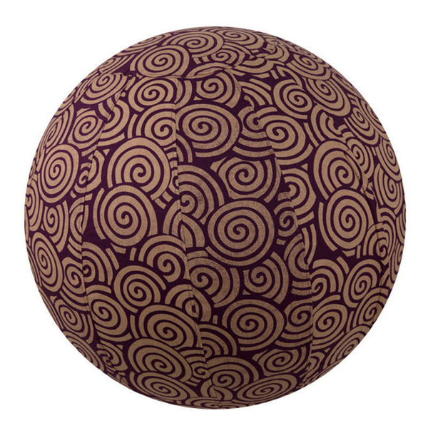 Yoga Ball Cover Size 55cm Design Plum Swirl - Global Groove (Y)