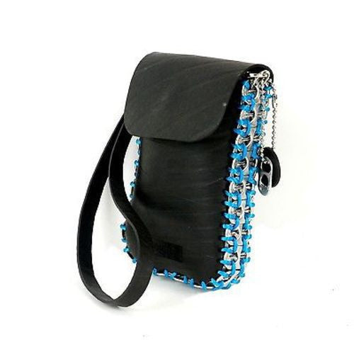 Tire and Poptop Smartphone Bag - Blue Handmade and Fair Trade