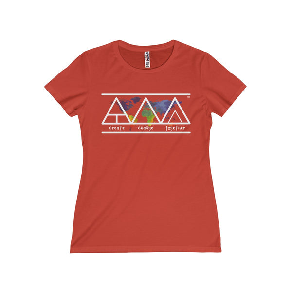 Create Change Together - Women's Missy Tee