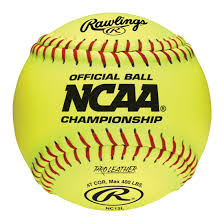 "Rawlings NCAA 12"" Softballs (dozen)"