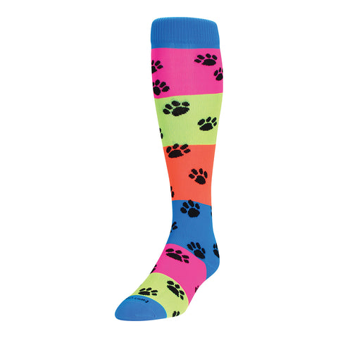 TCK Krazisocks Rainbow Paws Socks