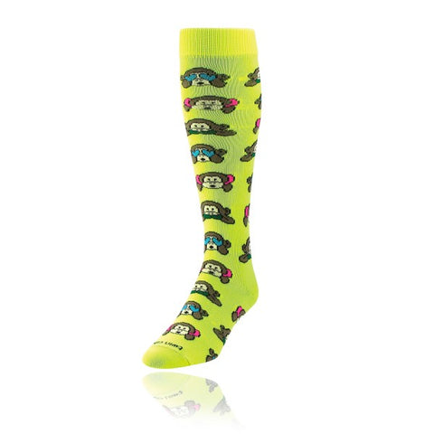 TCK Krazisocks Neon Monkeys Socks
