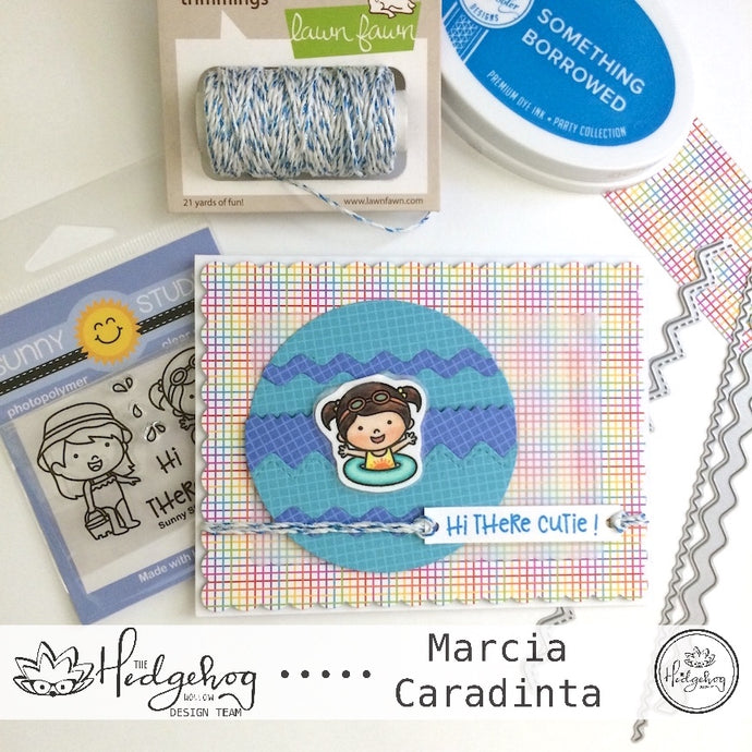 The Hedgehog Hollow July Kit:  Removable Bookmark