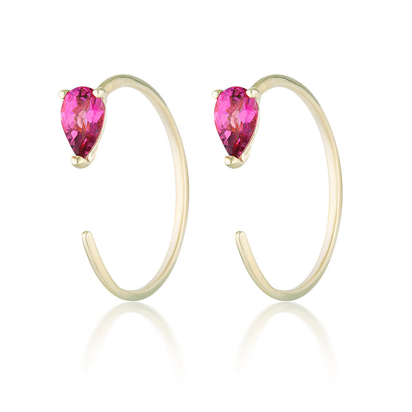 Sadie earrings II | tourmaline