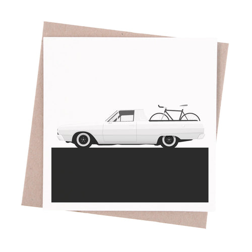 Valiant Ute Greeting Card - Garage79