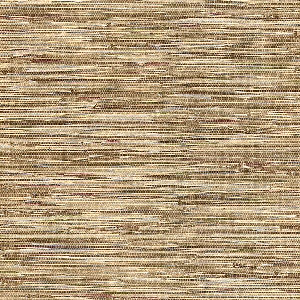 Lepeka Brown Faux Grasscloth