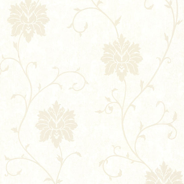 Dahli Pearl Floral Trail Wallpaper