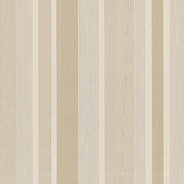 Amira Stripe Beige Horizontal Multi Stripe Wallpaper