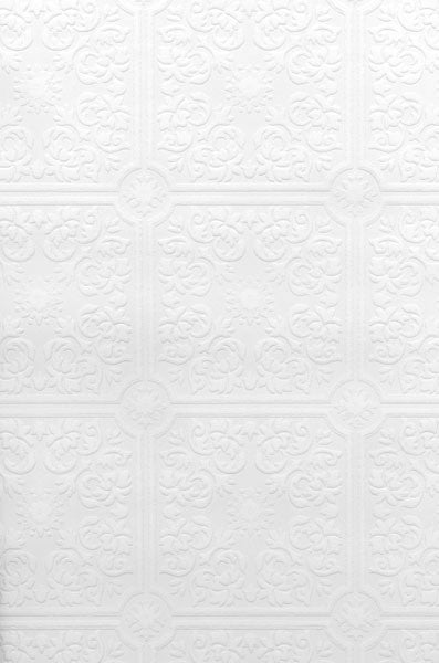 Hacienda Tile Texture Paintable Wallpaper