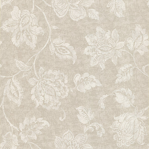 Sorrento Cream Jacobean Wallpaper