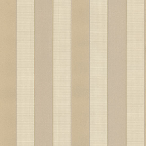Tyndale Beige Mason Stripe Wallpaper