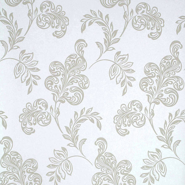 Karimah Light Blue Jacobean Wallpaper