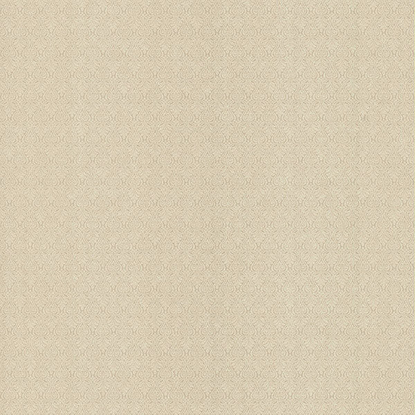 Giselle Texture Light Brown Ironwork Damask Texture Wallpaper