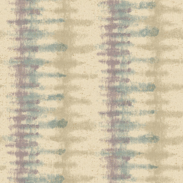 Modern Artisan Spectrum Wallpaper in Creme/beige