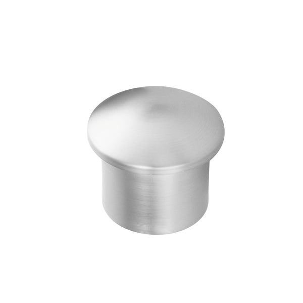 Metal End Cap - Mirrored Chrome For 1