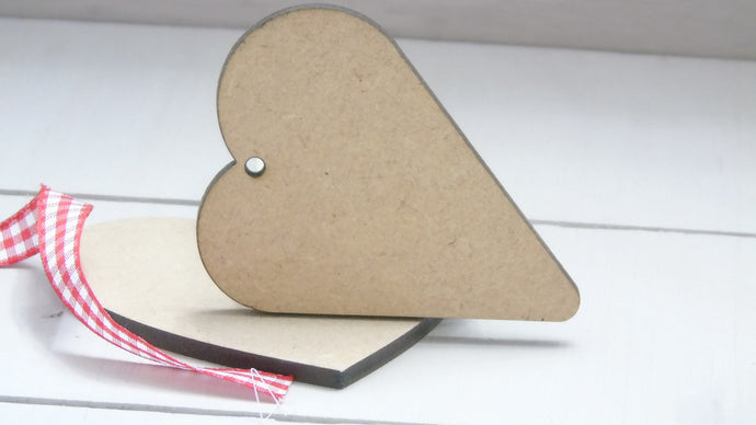 Sloppy Heart 4cm to 12cm (Packs Of 10)