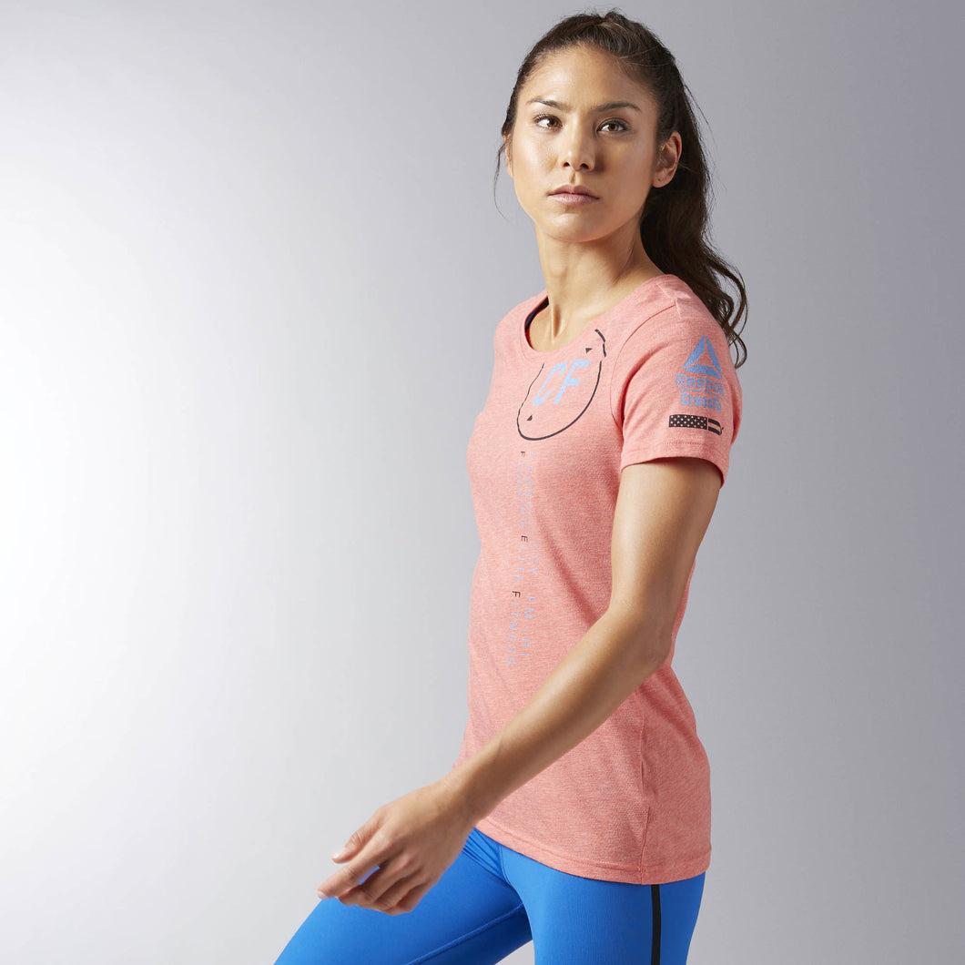 Reebok CrossFit Perforated Graphic Tee