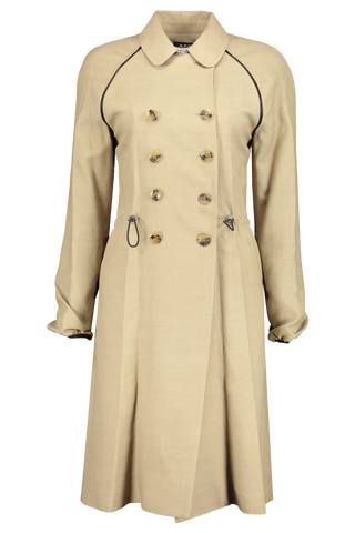 Jackie Trench Coat Beige