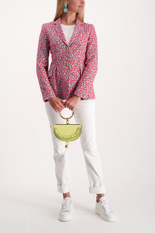 Full Body Image Of Model Wearing Escada Bia Blazer