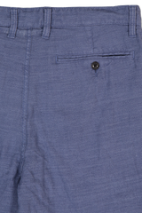 Back Pocket Detail Johnny Flat Front Shorts