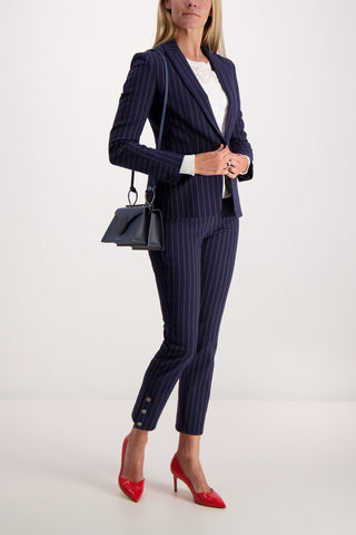 Full Body Image Of Model Wearing Lexington Blazer