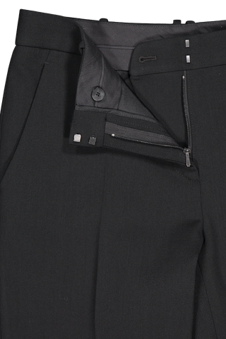 The Row Zipper Detail Roosevelt Pant