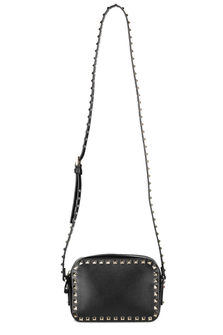 Valentino Front Image with Strap Rockstud Crossbody Bag