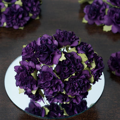 EXTRA TOUCH Craft Carnations-Purple.
