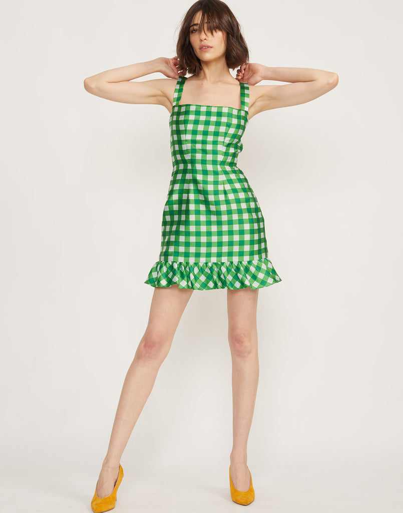 Stella Gingham Mini Dress